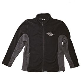 Fleecová bunda černá